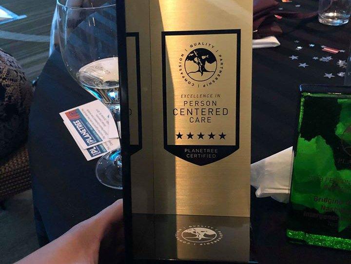 Gold certification award 2019