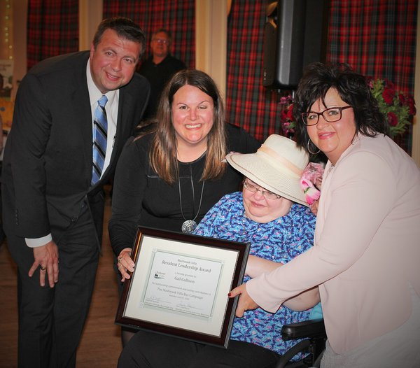 Gail Gullison - Resident Leadership Award