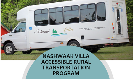 Nashwaak Villa - Past Foundation Projects - Poster Bus Outreach