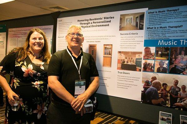 True Doors - Poster Planetree Conference 2018 - Nashwaak Villa