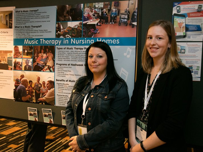 music therapy poster planetree conference 2018