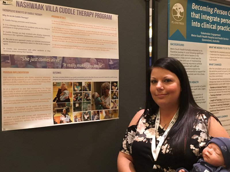 planetree conference - poster presentation cuddle therapy 2017