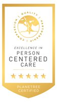 Nashwaak Villa - Planetree Certified Gold Badge