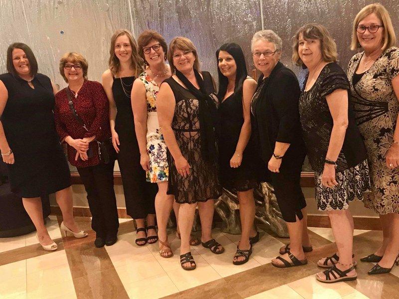 team at 2019 conference awards dinner