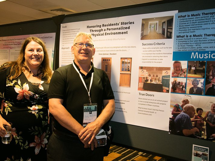 true doors poster planetree conference 2018